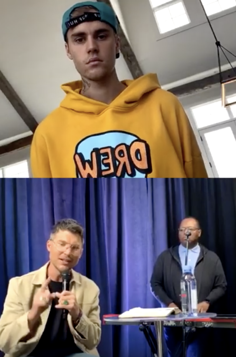 WATCH: Justin Bieber Hosts Church Service With Pastor Judah Smith on Instagram During Coronavirus Self-Isolation