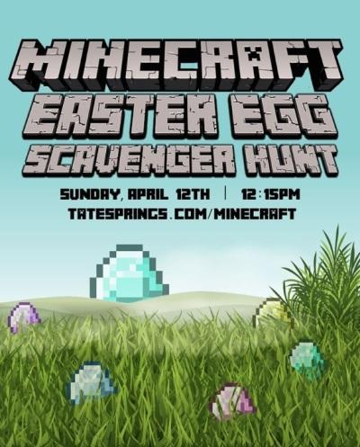 Minecraft Easter Egg Scavenger Hunt