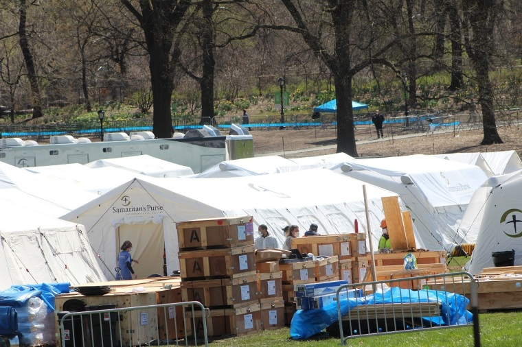 Samaritan's Purse Looking to Partner With Cathedral of St. John the Divine to Construct Second Emergency Field Hospital in New York City