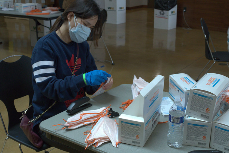 Rock Church in California Helping Fight Coronavirus by Assembling 300,000 N95 Masks