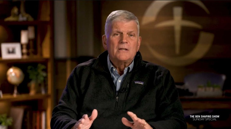Franklin Graham Warns of 'All-Out Socialism' If Americans Don't Vote for Politicians Who 'Love This Country and Defend the Constitution'
