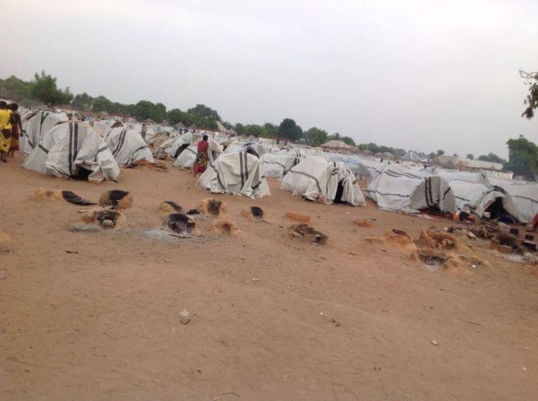 Nigerian IDP camp