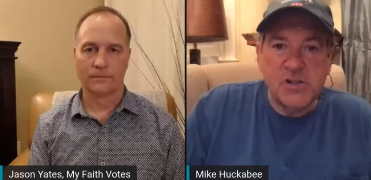 Mike Huckabee Says 'We Should Very Much be Concerned' About U.S. Government Ordering Churches Not to Hold In-Person Services