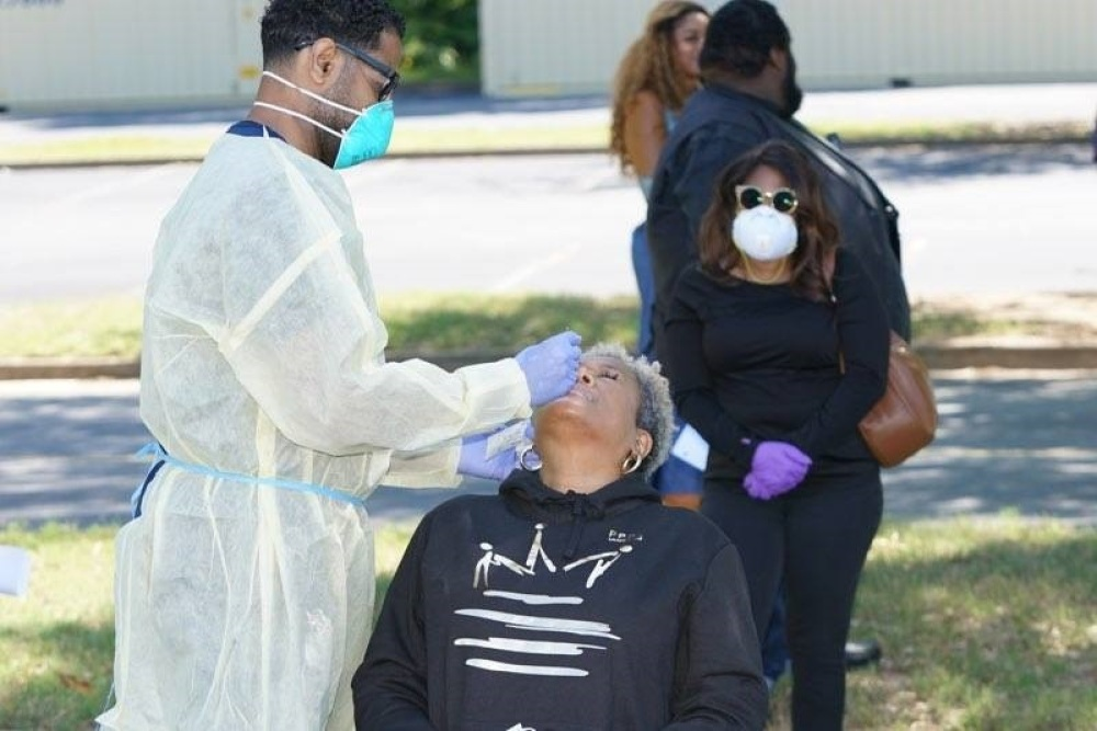 New Birth Missionary Baptist Church Test Nearly 2,000 People in Atlanta at Free Mother's Day Event