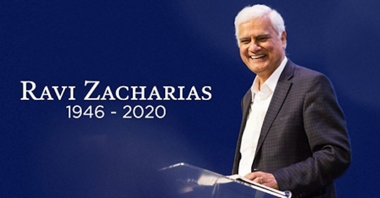 Ravi Zacharias' Memorial Service to be Livestreamed on YouTube and Facebook on May 29 With Tributes from Tim Tebow, Lecrae, Louie Giglio, and Others