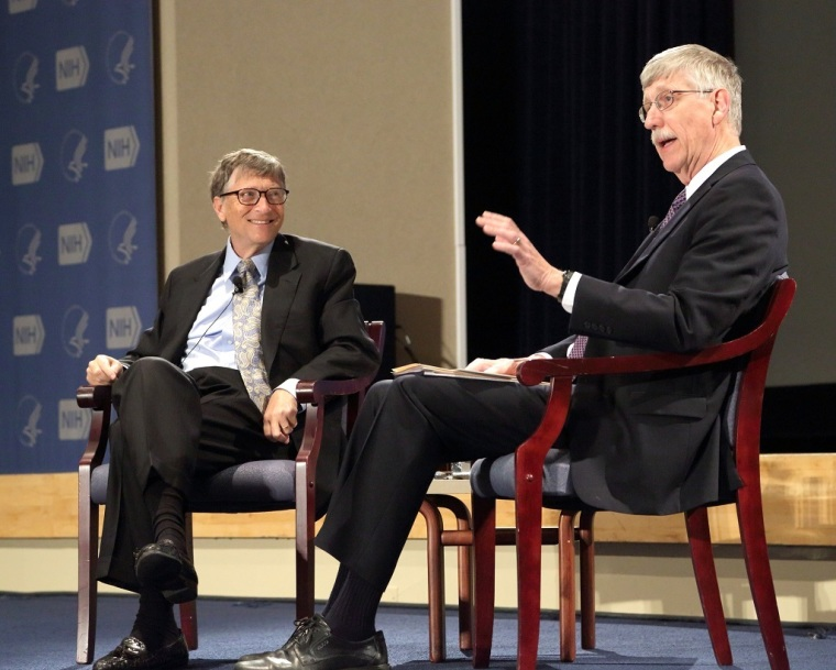Bill Gates, Francis Collins