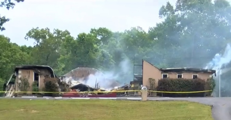 Mississippi Church Destroyed in Arson Attack and Vandalized With 'Bet You Stay Home Now You Hypokrits'