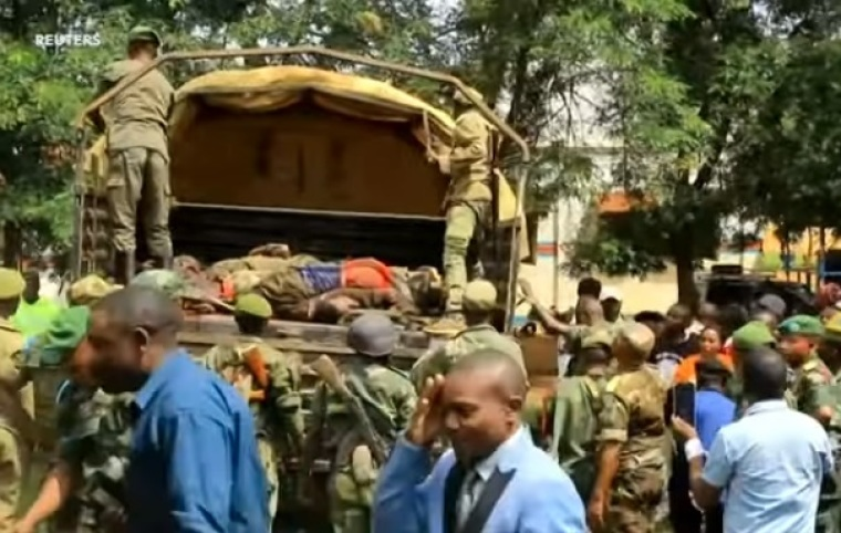 18 People Killed, Church Burned by Suspected Islamic Extremists in Eastern Congo Overnight Attack