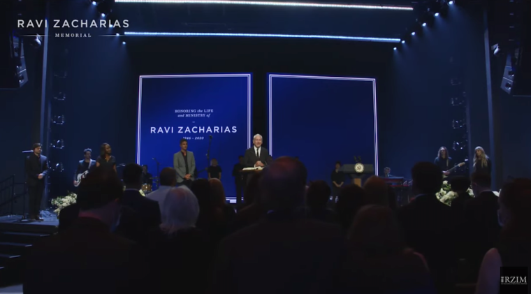 Mike Pence, Tim Tebow, Pastor Louie Giglio, and Others Pay Tribute to Ravi Zacharias at Memorial Service
