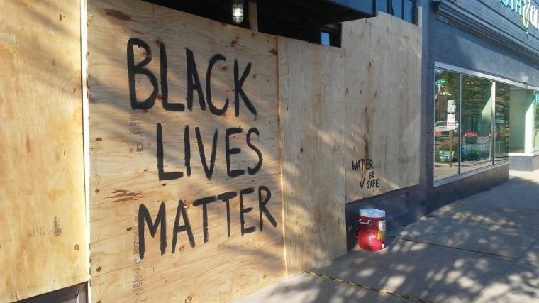 City Protests, Black Lives Matter, BLM