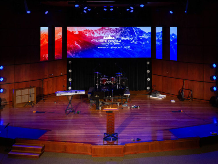 Lindquist Sanctuary, Trask Word & Worship Center, North Central University