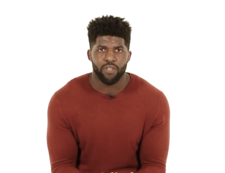 "WATCH: Emmanuel Acho, Former NFL Player and ESPN Analyst, Launches New Social Media Show ""Uncomfortable Conversations with a Black Man"""