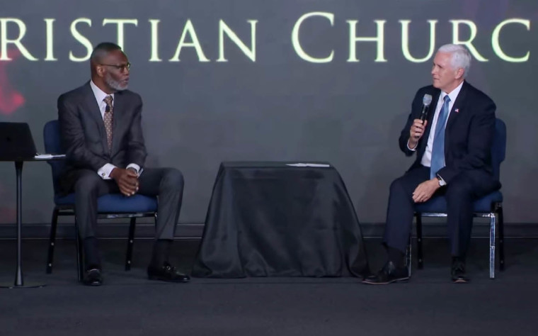 WATCH: Mike Pence Says the Church is the Right Place to Start Conversations Over George Floyd's Death as He Joins Pastor Harry Jackson for Listening Session on Racial Unity