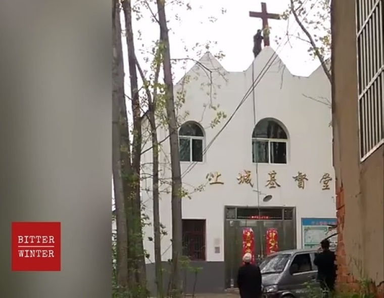 China Removed Over 250 Crosses from Church Buildings in First Four Months of 2020