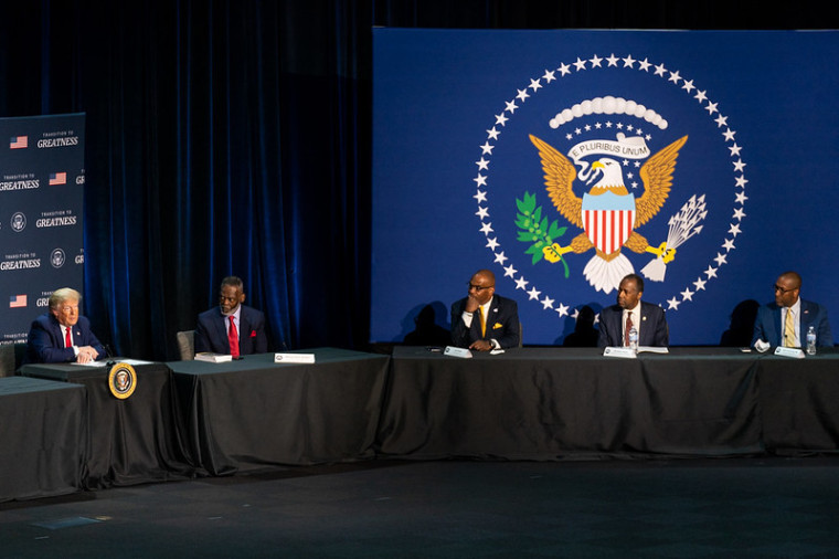 "Five Interesting Things Said During Trump's Roundtable on ""Restoring, Rebuilding, and Renewing"" Race Relations in America Held at Gateway Church in Dallas"