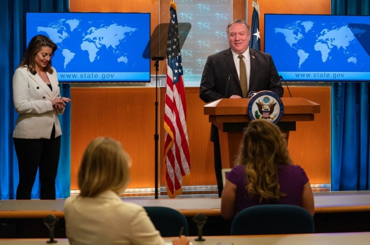 Pompeo Defends U.S.' Right to Peaceful Protest, Free Speech, and Religious Freedom in Response to China's Criticism
