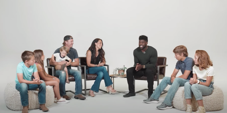 "WATCH: Chip and Joanna Gaines and Their Five Children Talk Racial Issues With Emmanuel Acho on Latest Episode of ""Uncomfortable Conversations With a Black Man"""