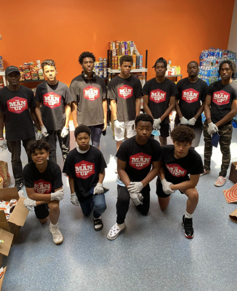 Young Black Boys Serve Minnesota Community Destroyed by Looting and Riots With Pop-up Grocery Stores
