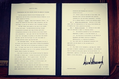 Trump executive order on foster care