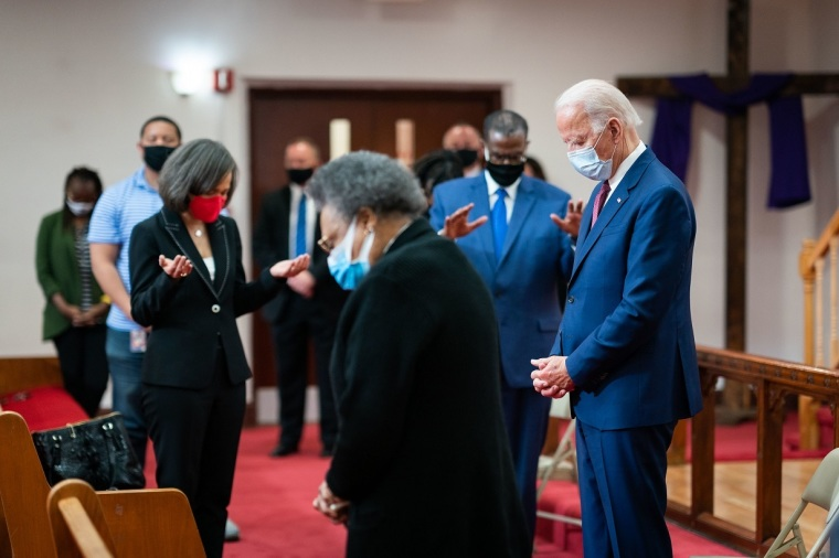 Biden Courts Evangelical Voters as Polls Show Support for Trump is Slipping