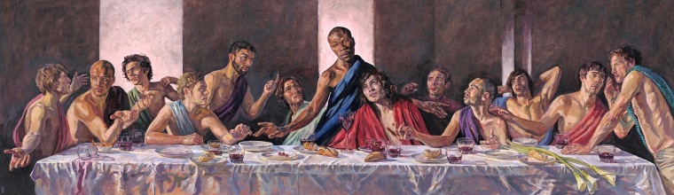 Last Supper Painting Featuring Black Jesus to be Displayed at St. Albans Cathedral in the UK