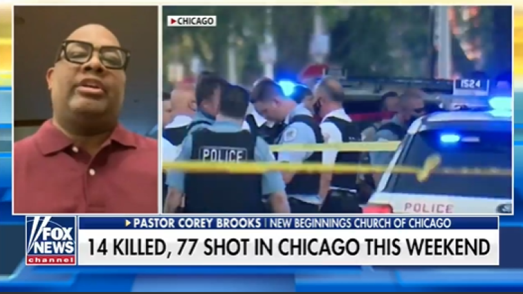 Chicago pastor says 'People are afraid to leave the house' in city's epidemic of gun violence