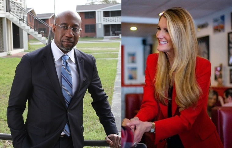 Atlanta Sen. Kelly Loeffler Criticizes Political Rival Rev. Raphael Warnock for Not Rejecting Black Lives Matter Movement