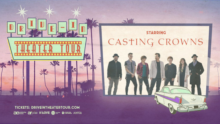 Awakening Events and The Salvation Army Team Up for Summer Drive-In Concert Tour With Casting Crowns, Michael W. Smith, TobyMac, and Other Artists