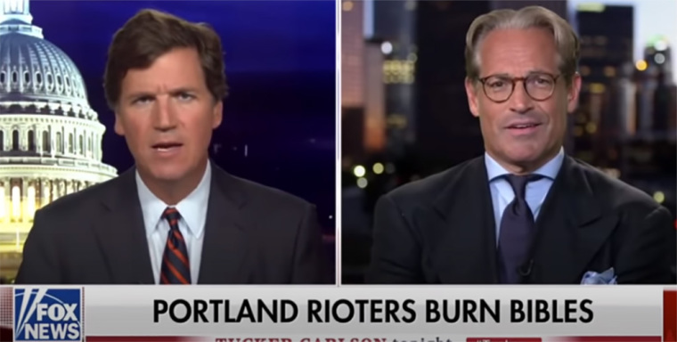 Eric Metaxas Says Freedom in America is 'Utterly Impossible' Without the Bible After Portland Rioters Burn Bibles