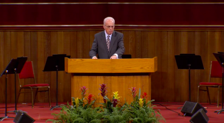 John MacArthur Continues to Defy California's 'Utterly Impossible' Coronavirus Guidelines Because It 'Goes Against the Will of the Lord' and Would 'Completely Shut the Church Down'