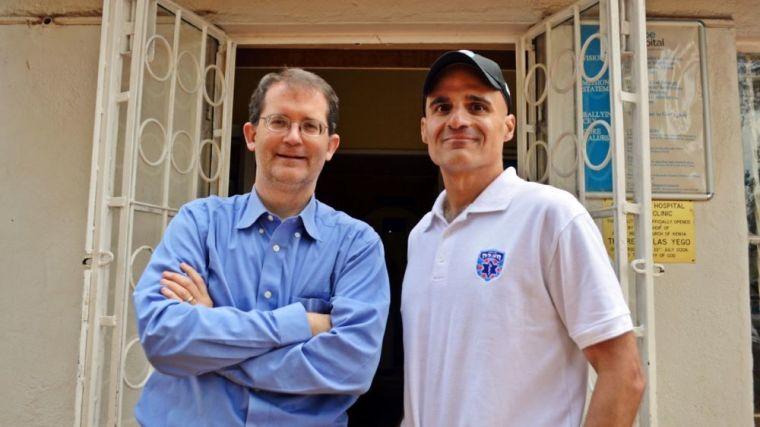 Dr. John Fielder (L) and Mark Gerson (R)