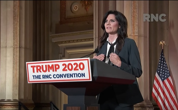 WATCH: Cissie Graham Lynch, Granddaughter of Billy Graham, Says Biden-Harris Vision for America 'Leaves No Room for People of Faith' in RNC Speech Condemning Democrats' Pro-Transgender Policies and 'Attack' on First Amendment Rights