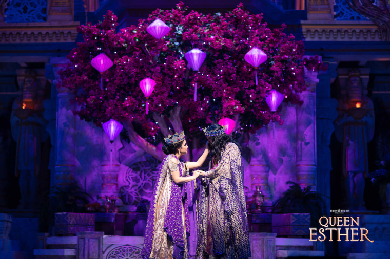 """Lead Actors of Sight & Sound Theatres' """"Queen Esther"""" Talk the Importance of Being Still in God"""