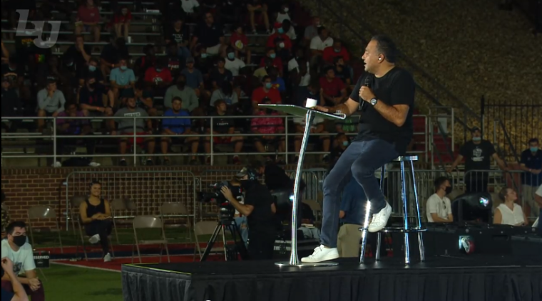 After guiding students through Falwell sex scandal, Liberty U campus pastor resigns