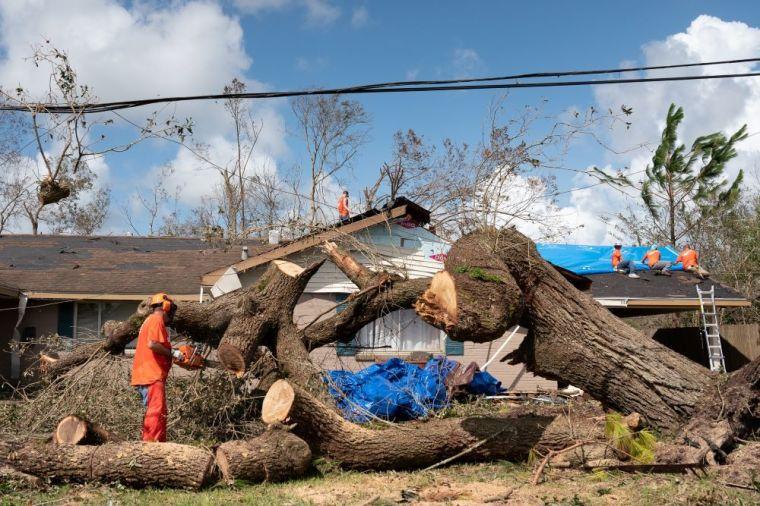 Hurricane Laura.
