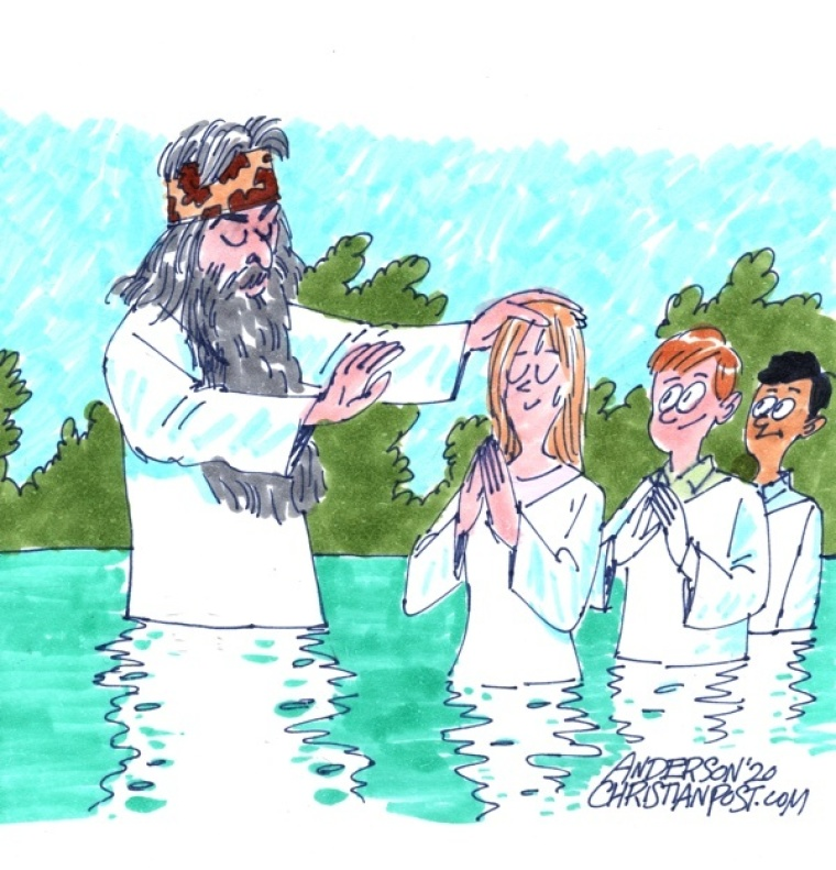 A Bounty of Baptisms with Phil Robertson