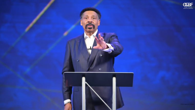 Dr. Tony Evans says the Church has become bad example of who God is; launched a new sermon series titled 'Kingdom voting'
