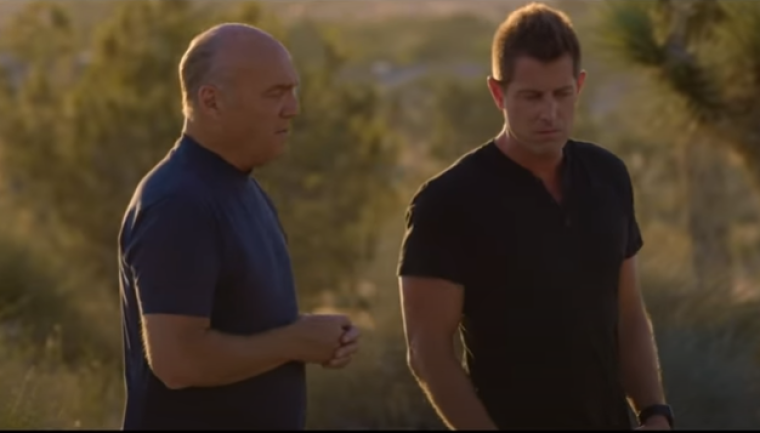 Jeremy Camp and Greg Laurie