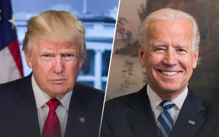 Trump vs. Biden Color