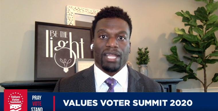 Benjamin Watson at 2020 Values Voter Summit