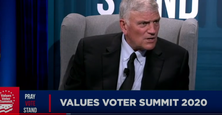 Franklin Graham at the Values Voter Summit