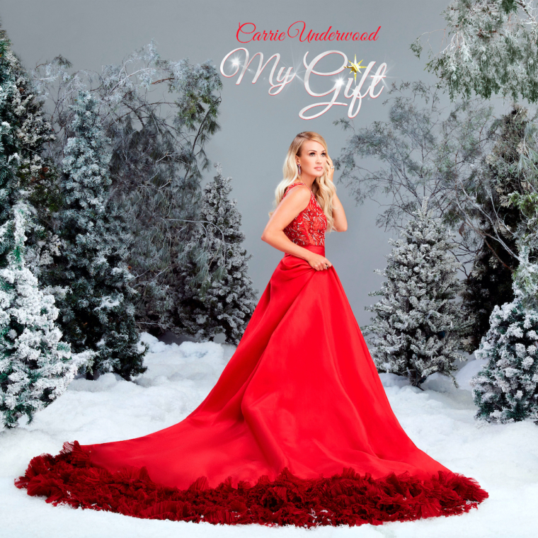 "Carrie Underwood Says First-Ever Full-Length Christmas Album ""My Gift"" Was a 'Much-Needed' Escape for Her"