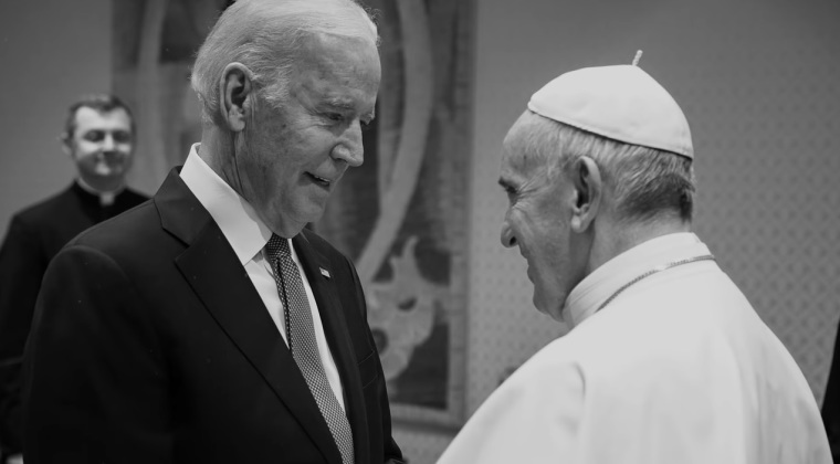 Pope Francis Encourages Biden to 'Respect the Rights and Dignity of Every Person' Including 'Those Who Have No Voice'