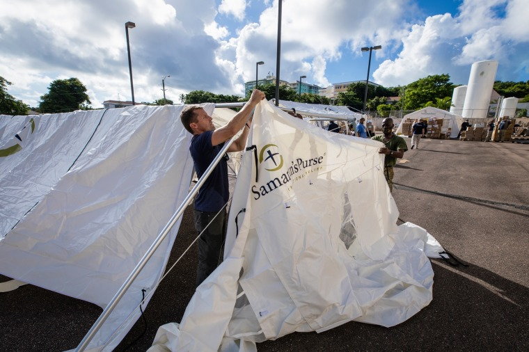 Samaritan's Purse Building Emergency Field Hospital in Bahamas to Help With Country's Coronavirus Crisis