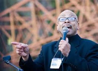 Rev. Clenard Childress Jr. speaks