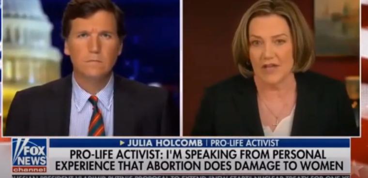 Julia Holcomb on 'Tucker Carlson Tonight,' Oct. 16, 2020