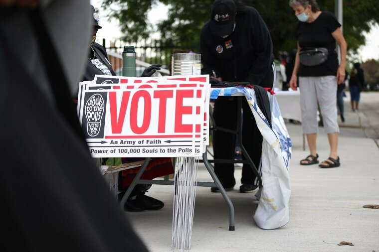 "Black Church Leaders Encourage Congregants to Vote in ""Souls to the Polls"" Programs"