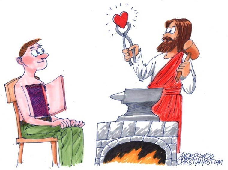 A Christian Heart, Forged in the Fire