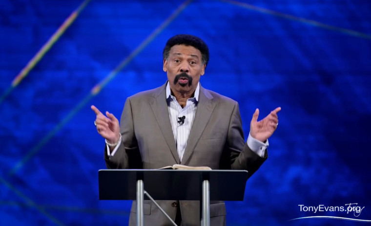 WATCH:Tony Evans Says Christians 'Have Allowed Government to Divide the Church,' Denounces Vitriol of Christians Arguing Over Politics on Social Media