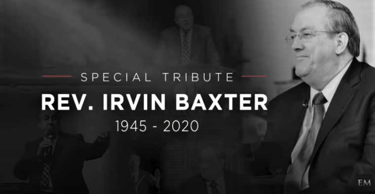 Prophecy Teacher Irvin Baxter Jr Dies at 75 After Contracting Coronavirus